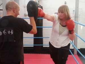 ladies kickboxing wigston
