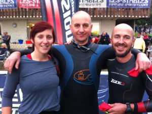 This was Nicola's first Half Ironman and she did really well