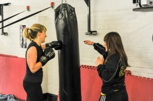 ladies kickboxing oadby