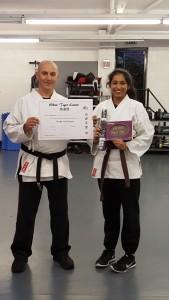 Karate Black Belt Whitetiger Training